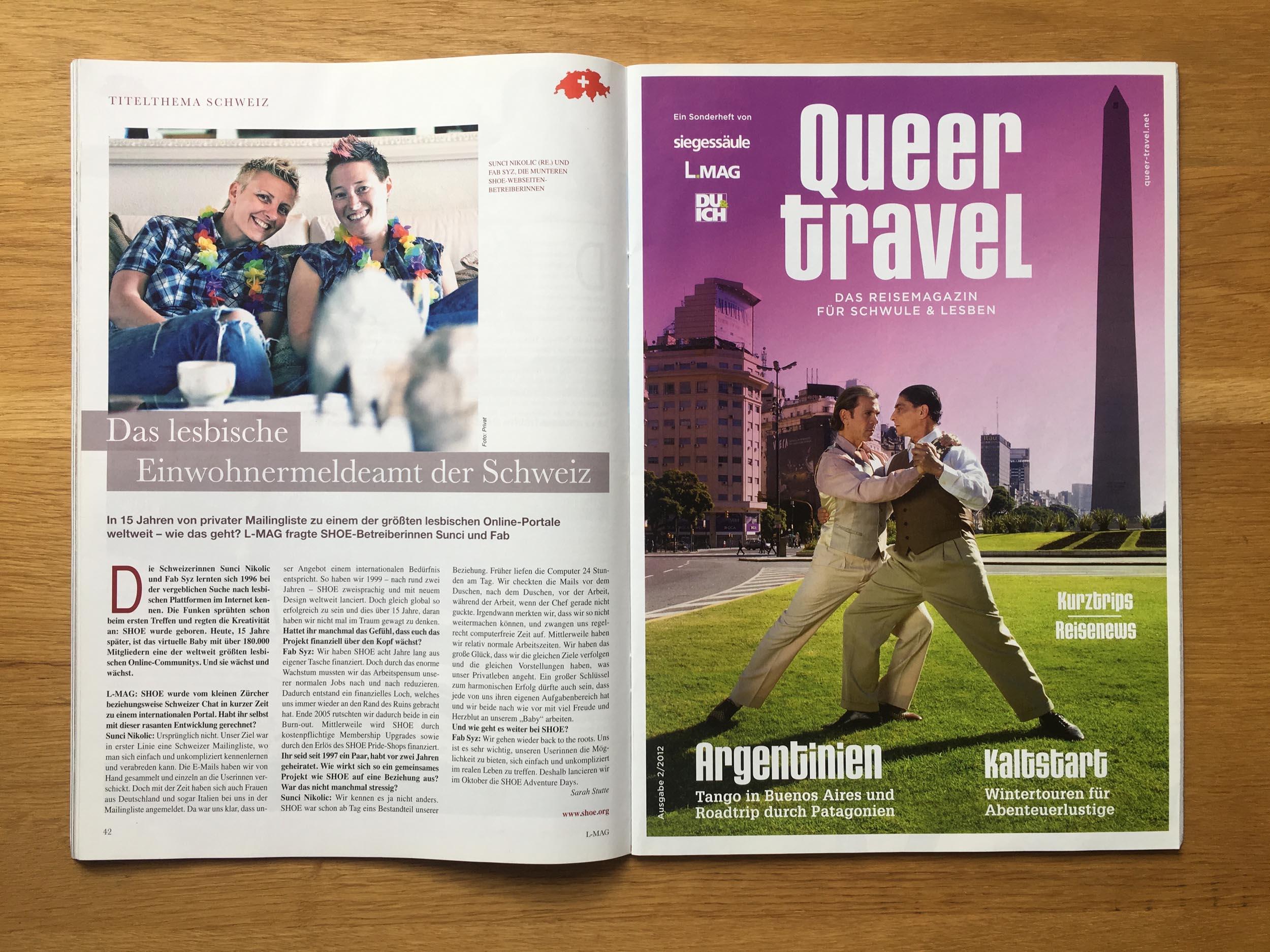 Queer Travel 2012/2