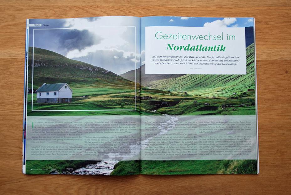 Färöer: Gezeitenwechsel im Nordatlantik
