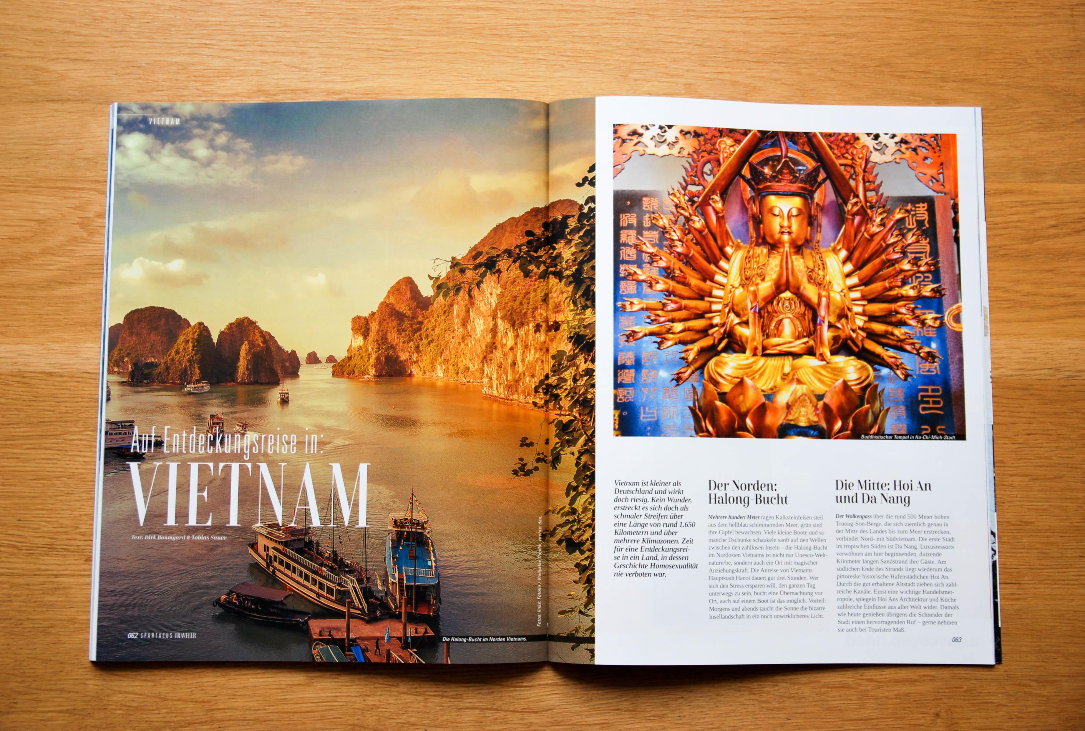 Auf Entdeckungsreise in: Vietnam