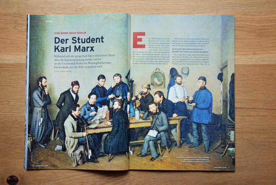 Der Student Karl Marx