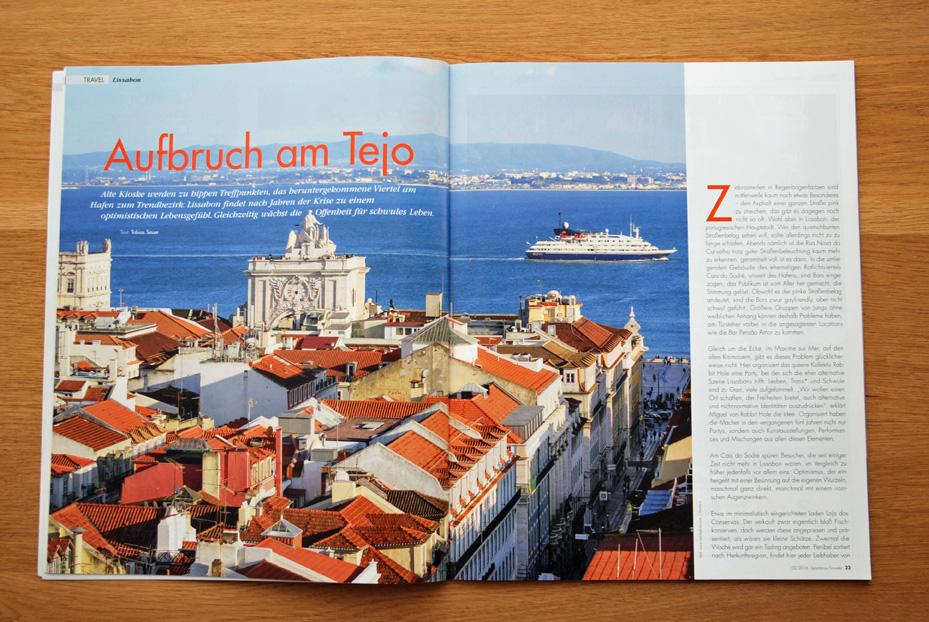 Lissabon: Aufbruch am Tejo