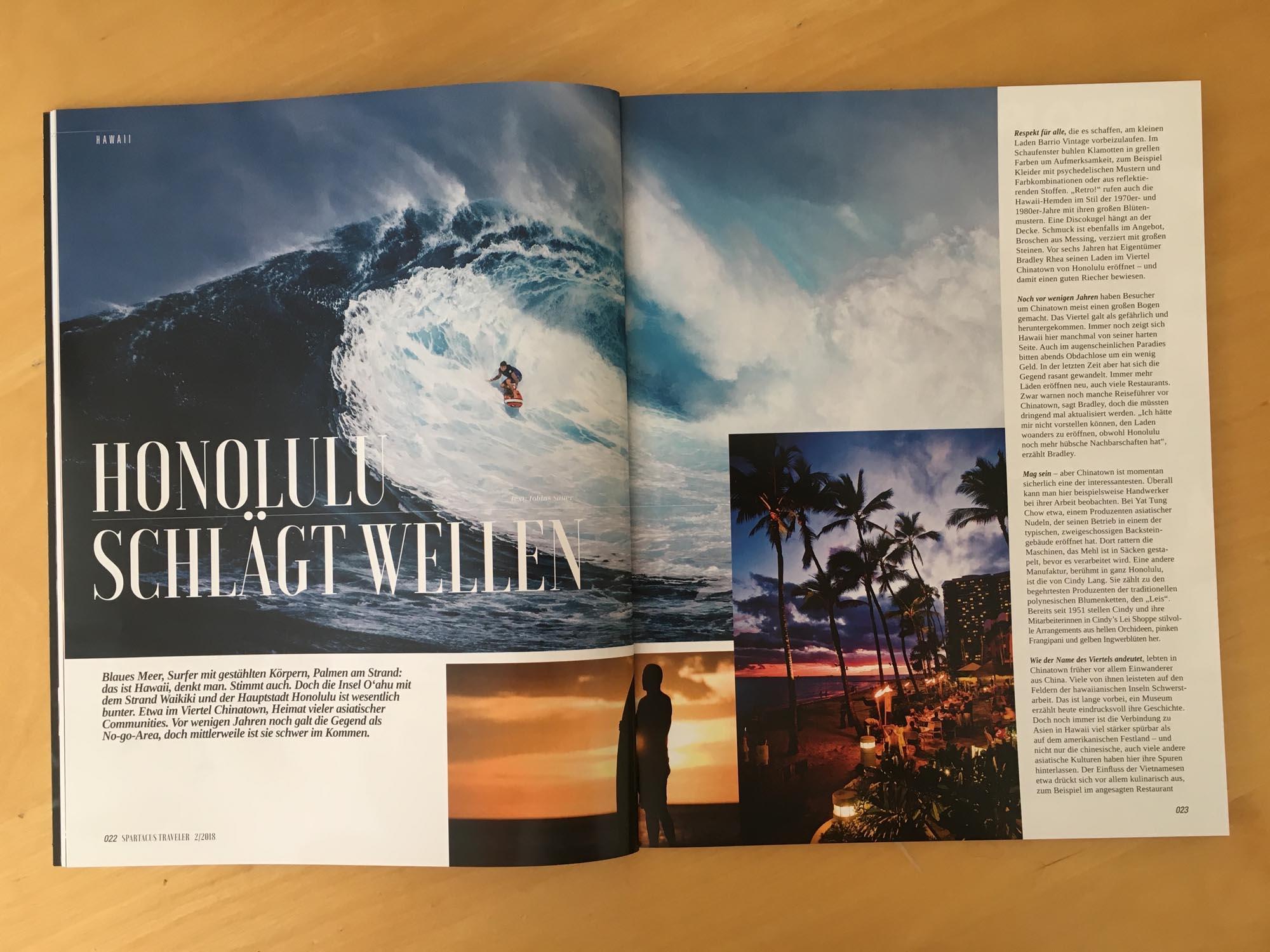 Honolulu schlägt Wellen