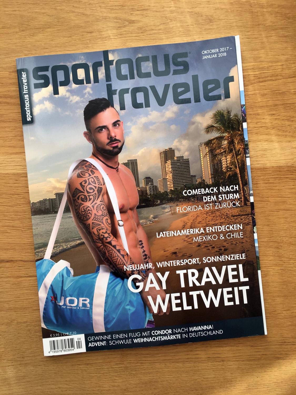 Spartacus Traveler, Ausgabe 2017/4