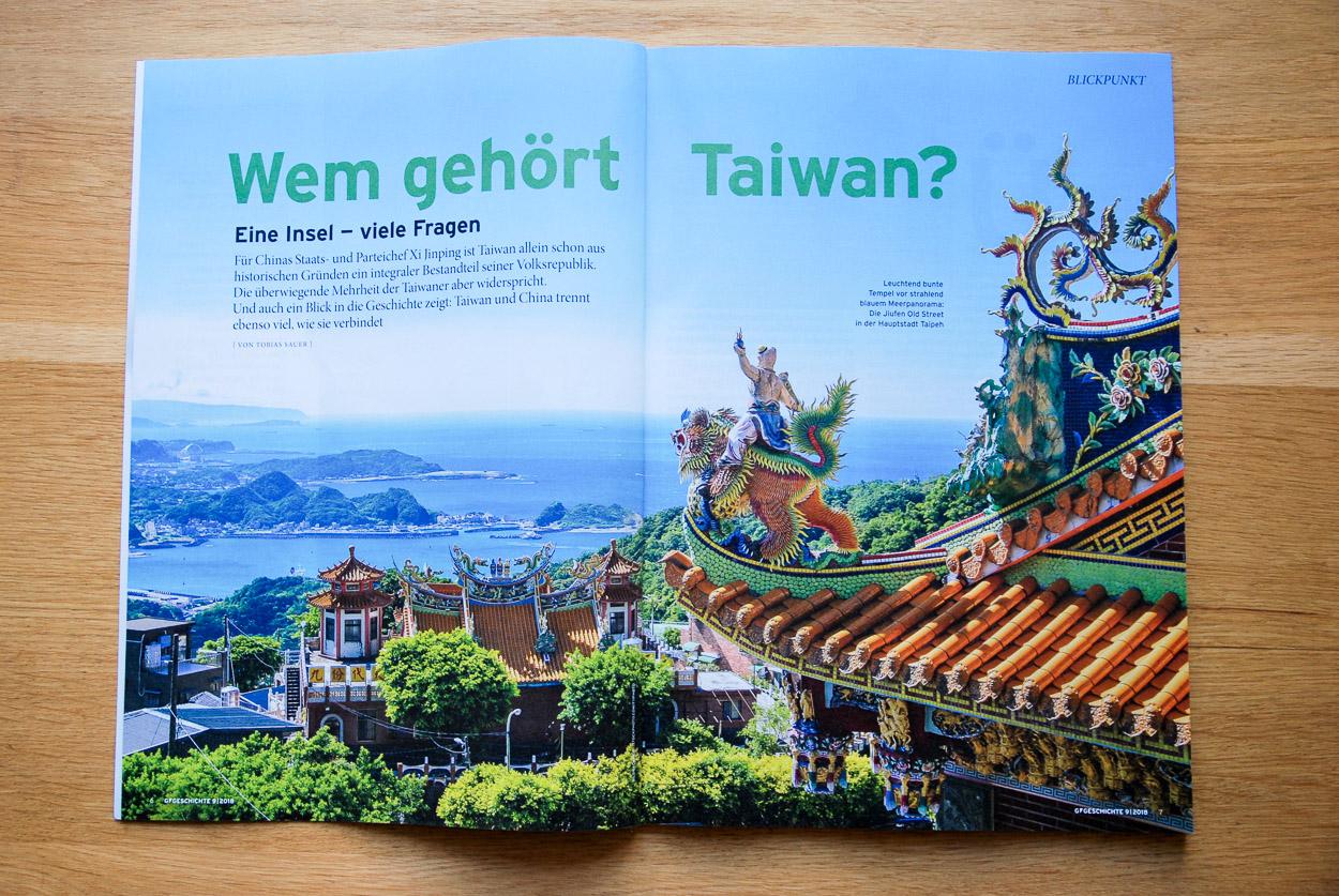 Wem gehört Taiwan?