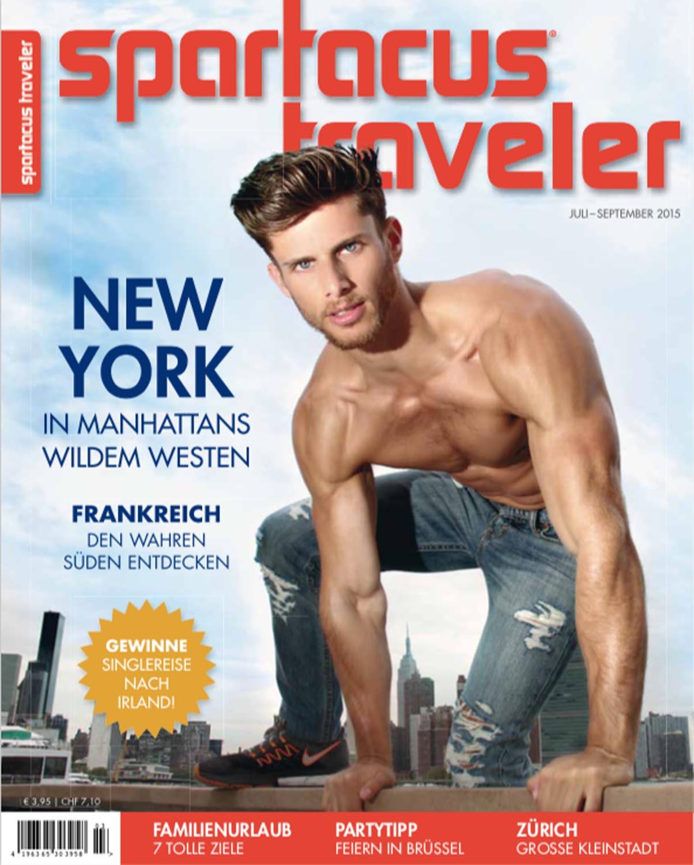 Spartacus Traveler, Ausgabe 2015/3