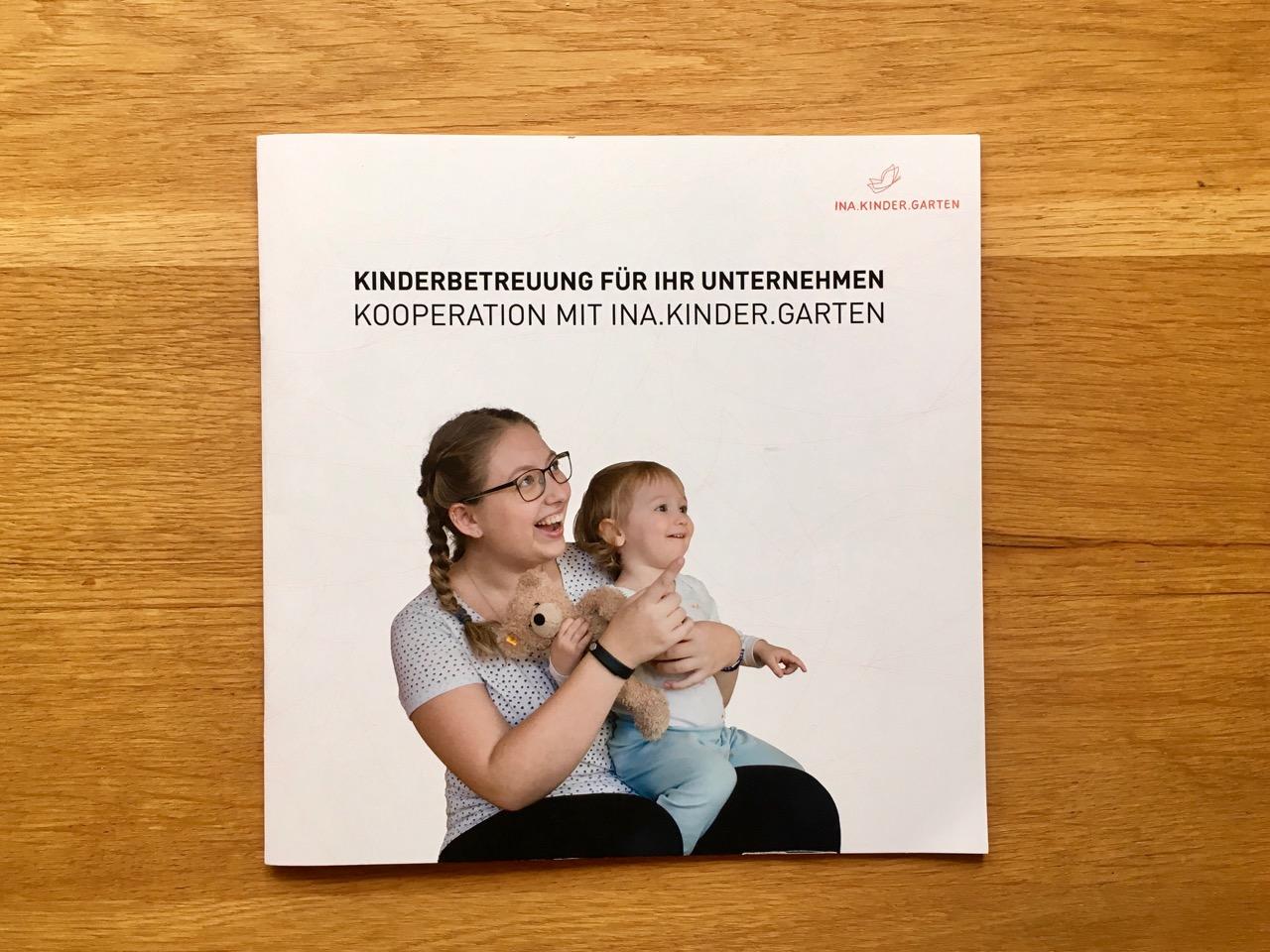 Broschüre: Kinderbetreuung für Ihr Unternehmen