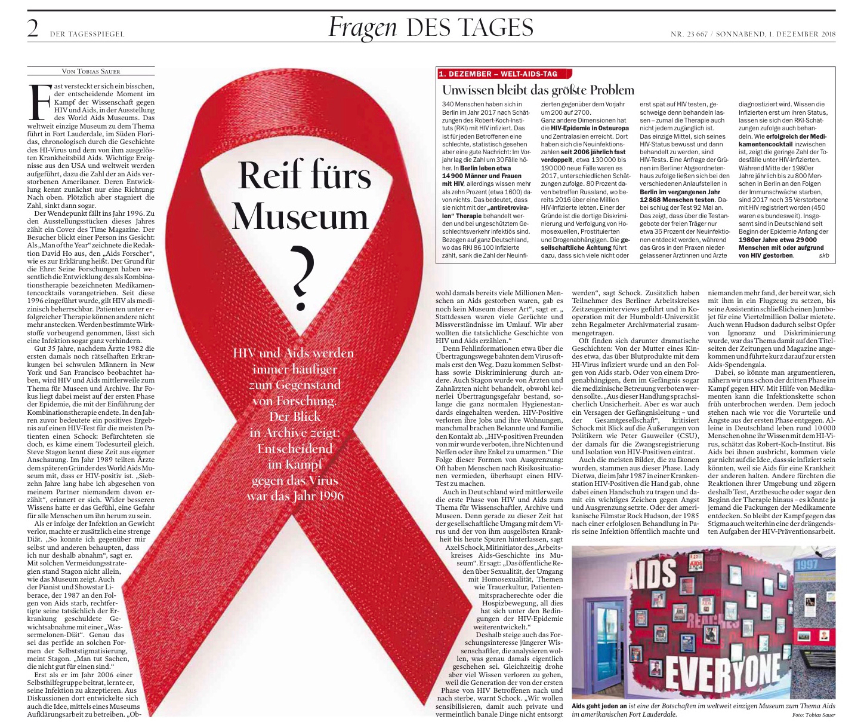 Sind HIV und Aids reif fürs Museum?