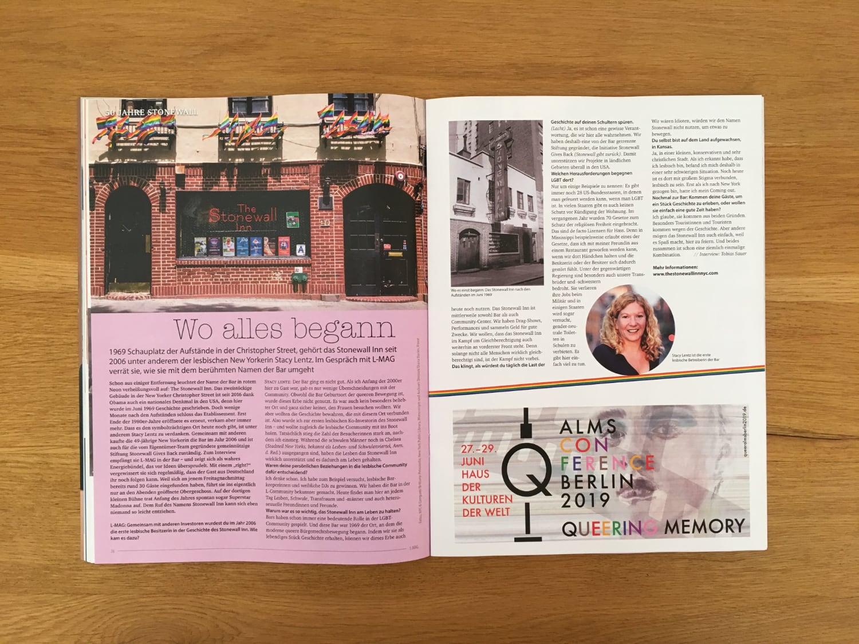 Stonewall: Wo alles begann