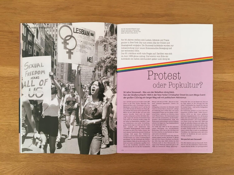 Stonewall: Protest oder Popkultur?