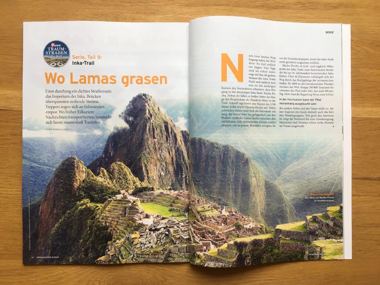Inka-Trail: Wo Lamas grasen