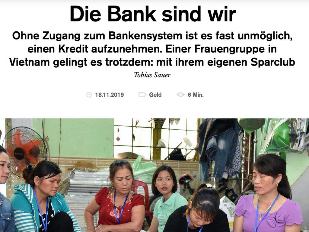 Screenshot Fluter-Artikel Spargruppe Vietnam von Tobias Sauer