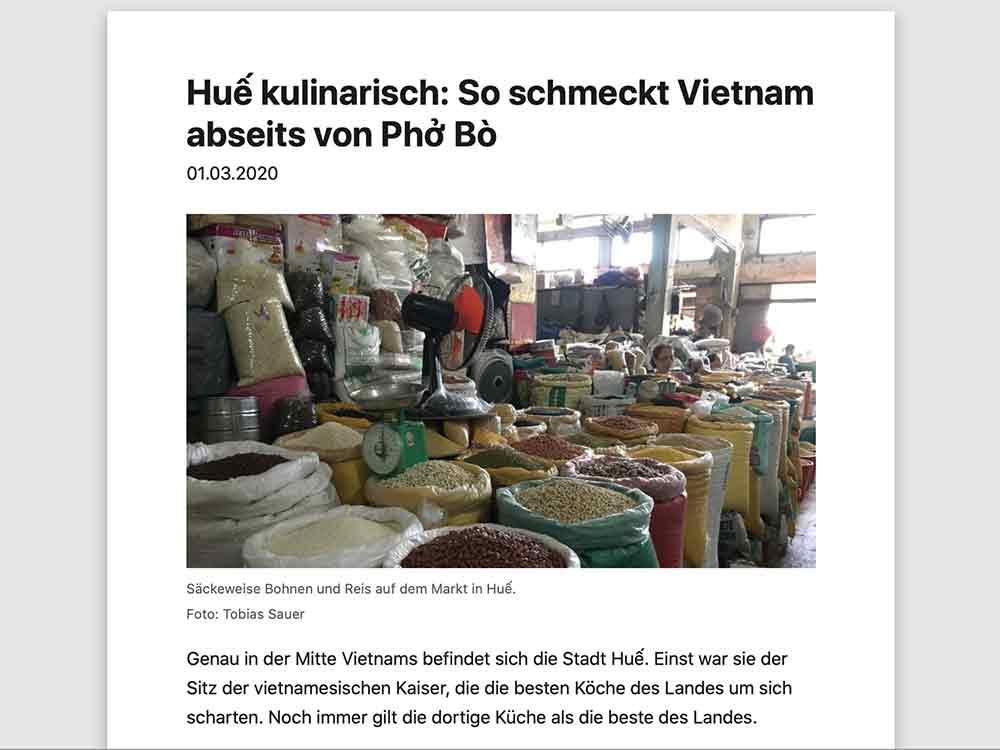 Huế kulinarisch: So schmeckt Vietnam abseits von Phở Bò