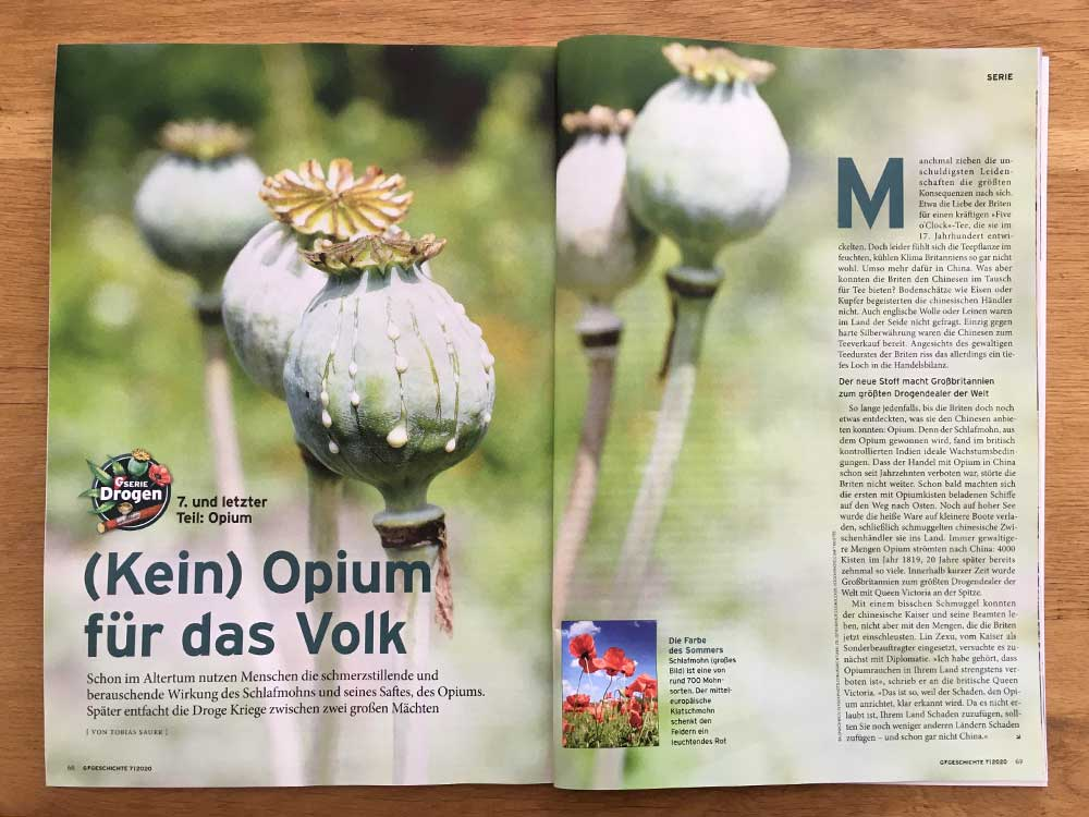 (Kein) Opium für das Volk