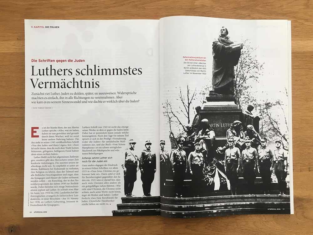 Luthers schlimmstes Vermächtnis