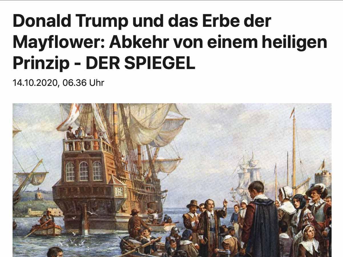 Das Erbe der Mayflower
