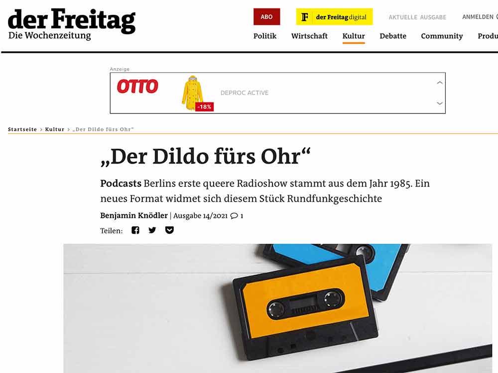"""""""Der Dildo fürs Ohr"""""""